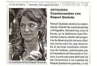 Historias da Maletra en Ortigueira