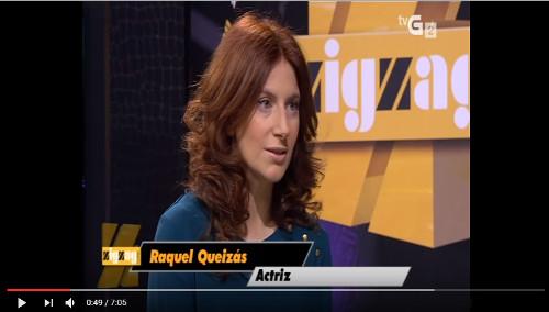 Entrevista en el programa ZigZag Diario (TVG)