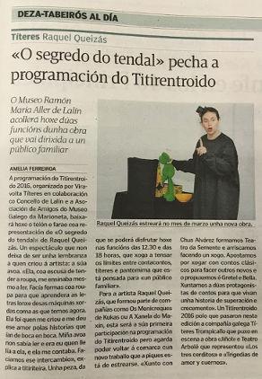 Reportaxe en La Voz de Galicia