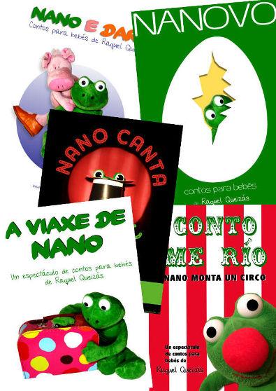 Nanocontos de Raquel Queizás