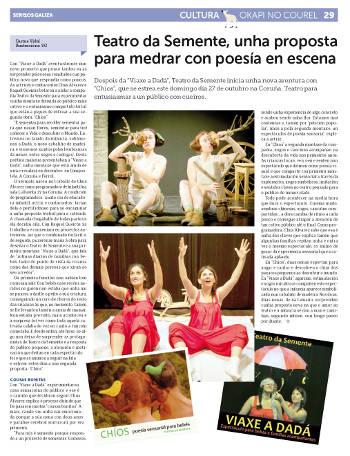 Teatro da Semente en Sermos Galiza