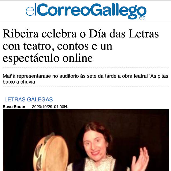 A farsa das zocas en Ribeira
