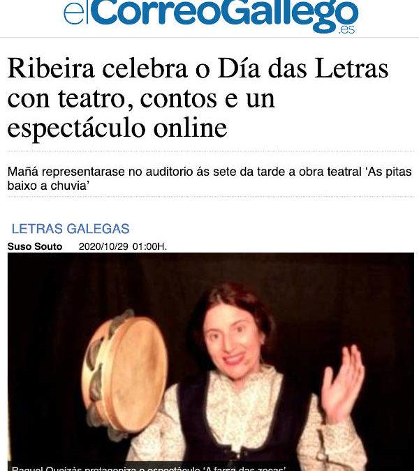 «A farsa das zocas» en Ribeira