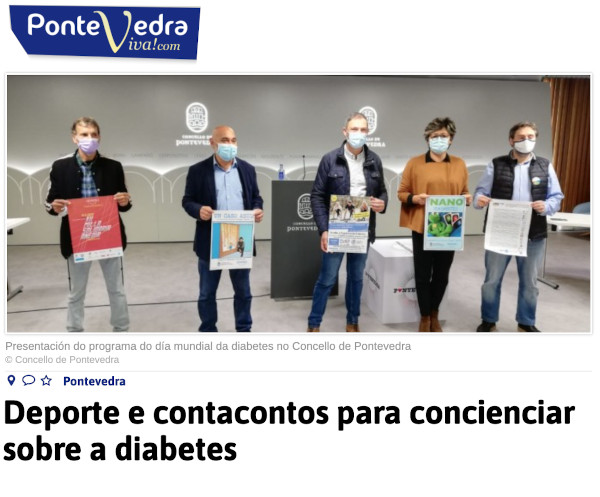 Historias azuis. Integrando a diabetes na escola 2020