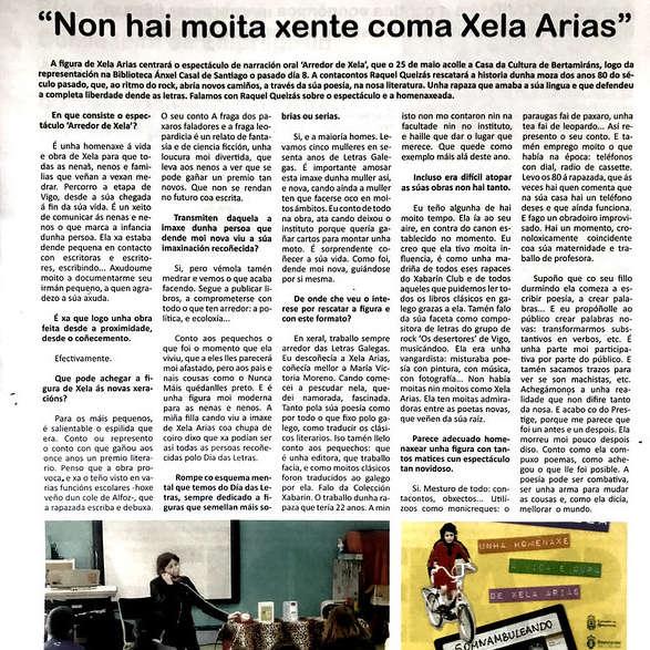 Entrevista na revista AMSGO!