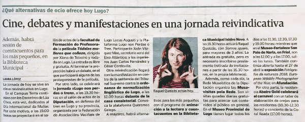 Cuentos por la igualdad en la Biblioteca Municipal de Lugo