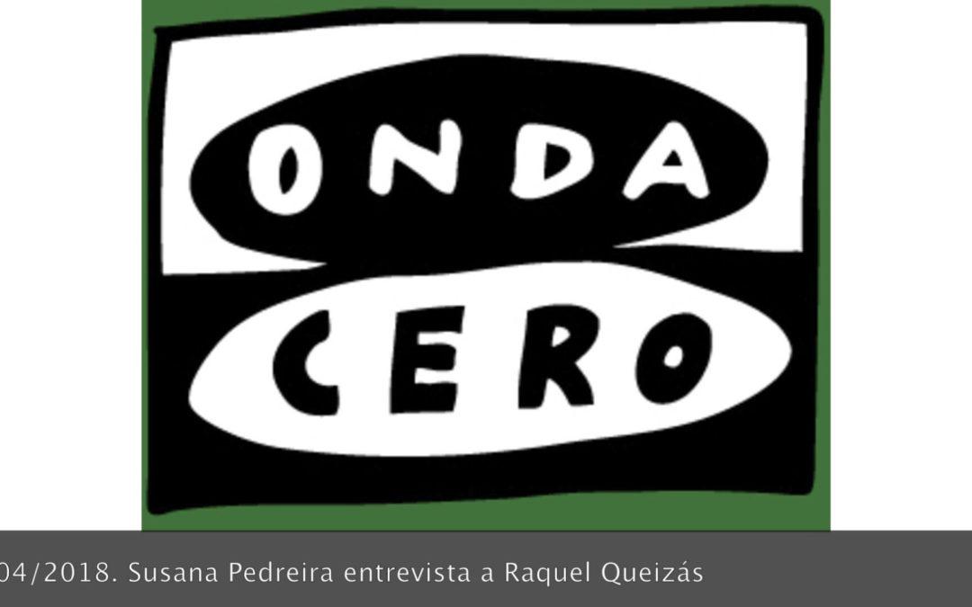 Entrevista en Onda Cero Pontevedra