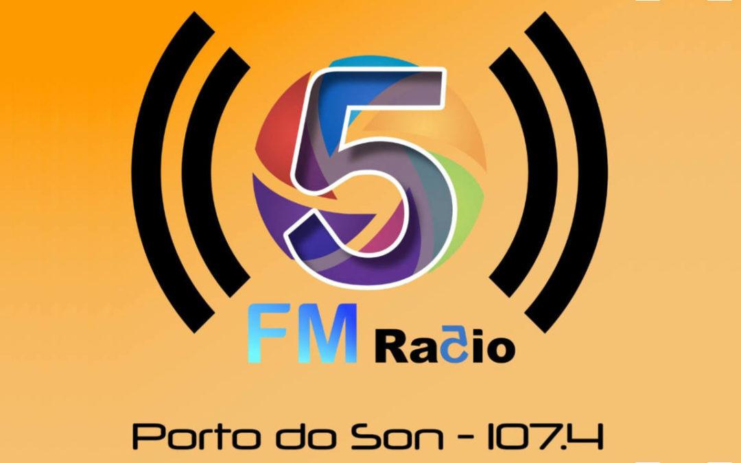 Entrevista en FM Radio 5 de Porto do Son