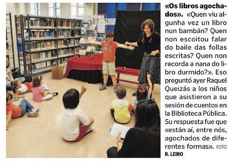 Libros escondidos en la Biblioteca de Pontevedra