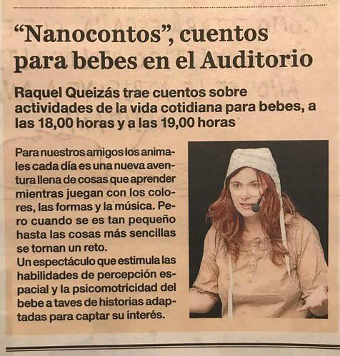 Nanocontos en Ourense