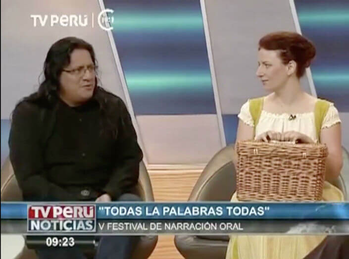 "Festival Internacional de Narración Oral do Perú ""Todas as Palabras, Todas!"" (2/5)"